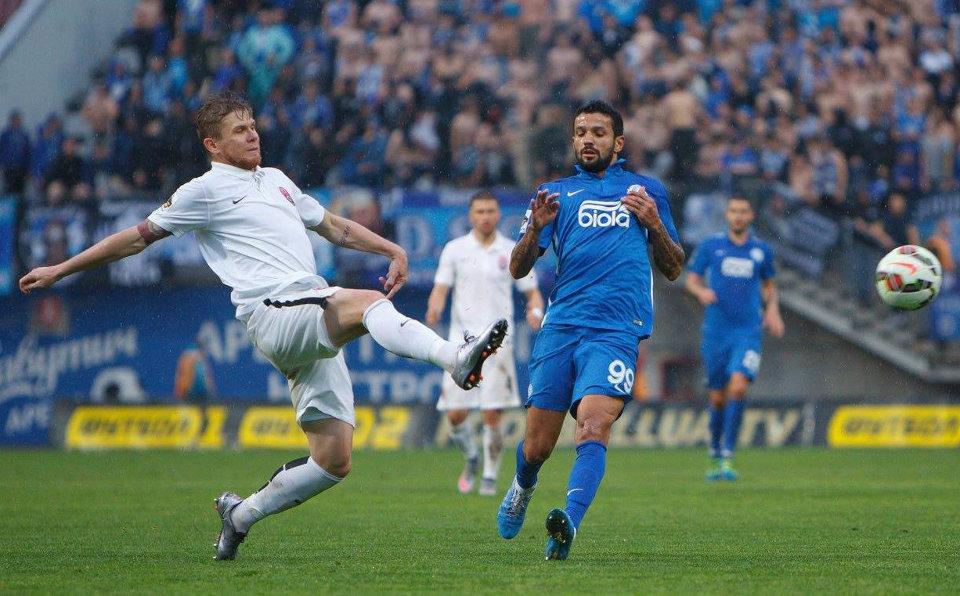 Луганчане и днепропетровцы провели ответный матч 1/2 финала Кубка Украины
