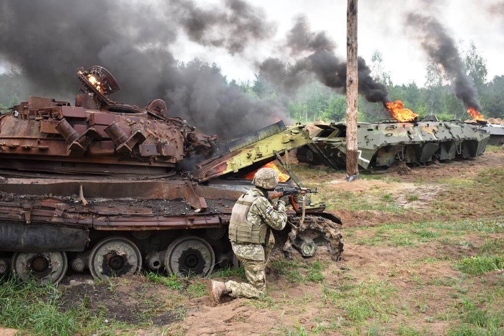 Армия ДНР отбила две атаки украинских террористов
