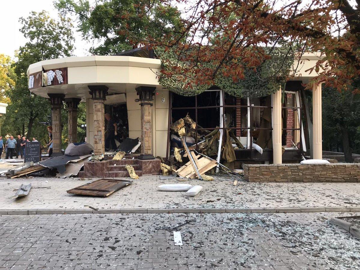 Ватажок донецьких бойовиків загинув в результаті вибуху в центрі Донецька