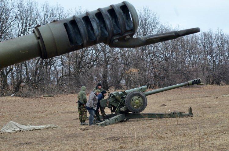 Артиллерия стала главным оружием войны на Востоке