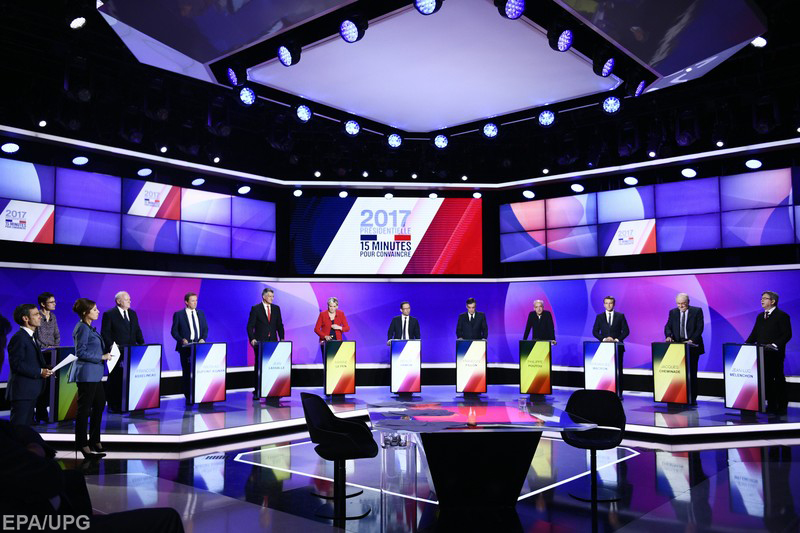 Хорошие шансы выйти во второй тур имеют четверо кандидатов