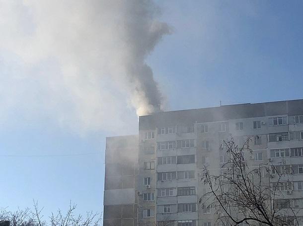 Появились детали мощного взрыва накрыше многоэтажки воккупированном Крыму