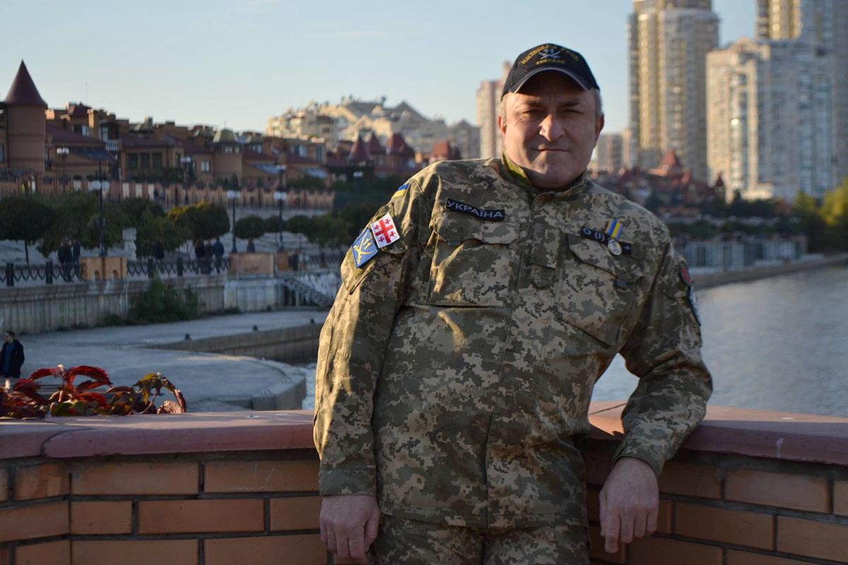 Грузинский доброволец Андрей Схулухия рассказал, как защищал позиции в районе Авдеевки