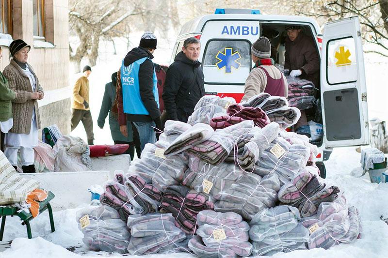 Организация намерена более чем в 1,5 раза увеличить помощь пострадавшим в АТО
