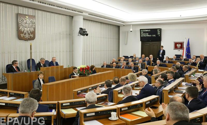 """Польский парламент и руководство правящей партии """"Право и справедливость"""" пока игнорируют все обращения украинцев о примирении"""