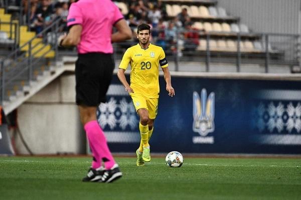 Украинская молодежка в матче отбора Евро-2021 U21 играла со сверстниками из Румынии