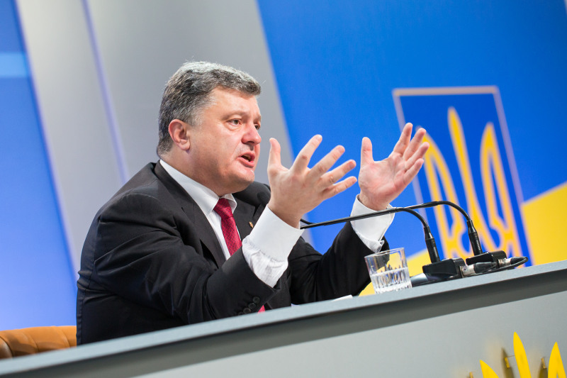 Петр Порошенко пообещал отменить закон об особом статусе отдельных районов на востоке Украины