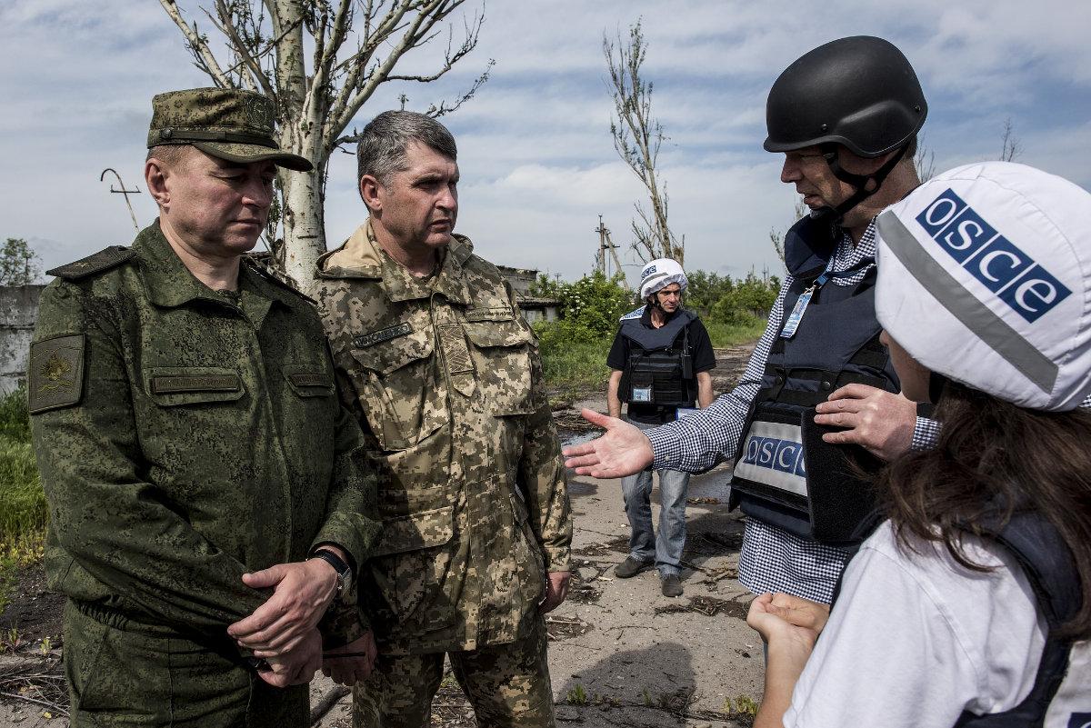 Генерал-майор Радион Тимошенко рассказал, как боевики ДНР и ЛНР провоцируют нарушения перемирия