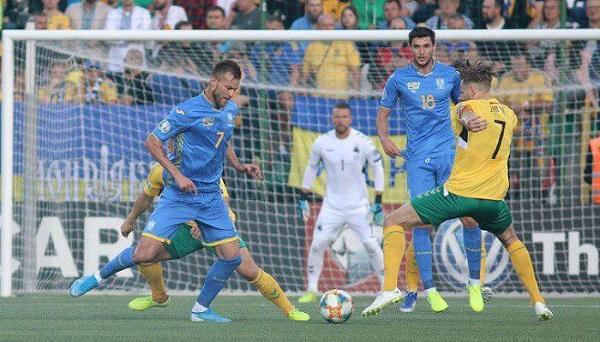 Українська збірна в матчі відбору Євро-2020 приймала Литву