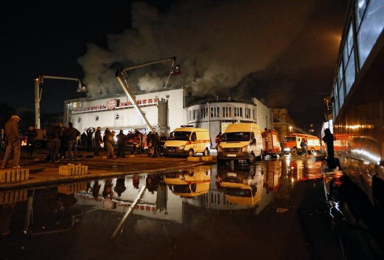 По версии милиции причиной пожара стал поджог
