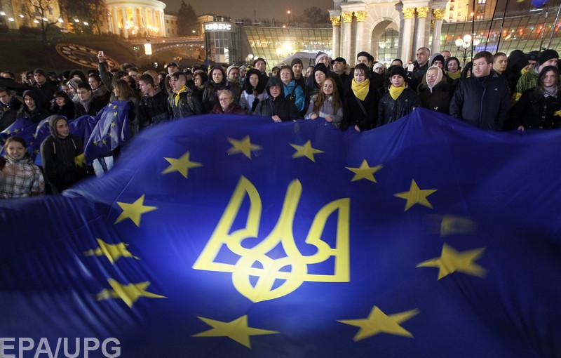Отсутствие реальных достижений в отношениях с ЕС может изменить внешнеполитические симпатии украинцев
