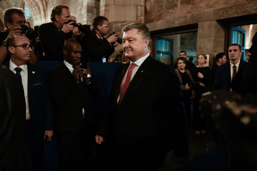 О чем президент Украины договаривался с европейскими политиками