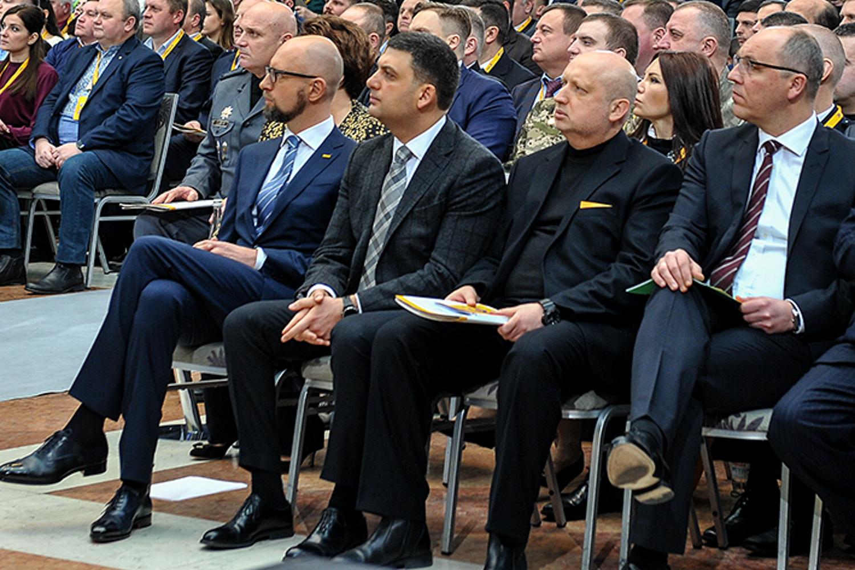 З ким Гройсман і Турчинов підуть на вибори