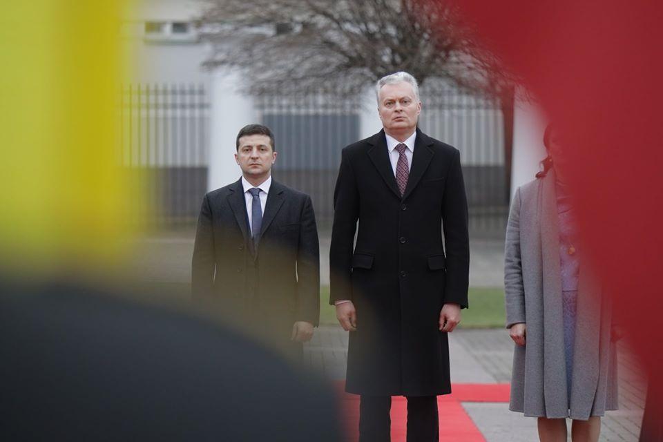 Зеленский вЛитве обсудит «нормандскую встречу», евроинтеграцию иреформы