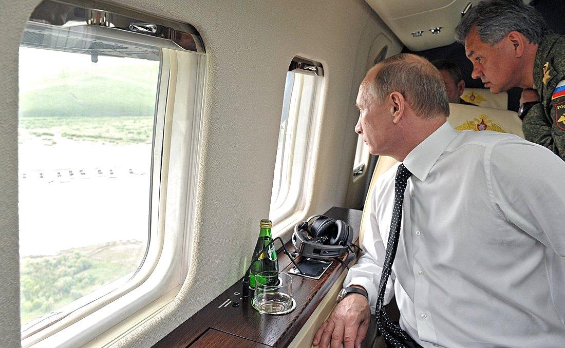 Саша Сотник о Путине и его планах насчет Донбасса