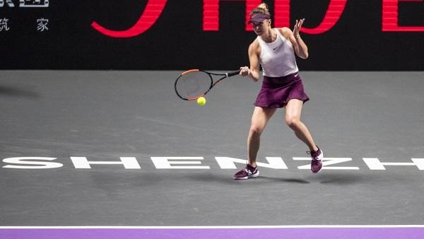 В финале Итогового турнира WTA Свитолина проиграла первой ракетке мира