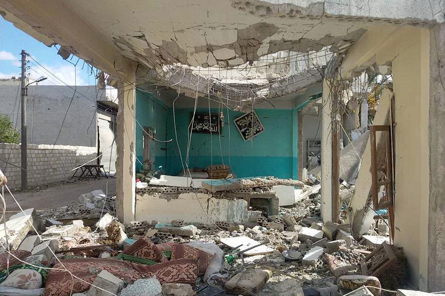 Картинки по запросу последствия бомбардировок в сирии