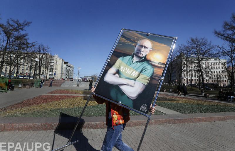 Крым – это сейчас единственное, хоть и виртуальное, завоевание, которое по-прежнему вызывает поддержку общественного мнения в РФ