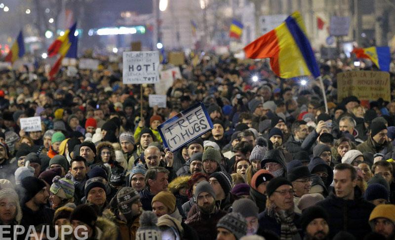 """Пока правые будут использовать """"улицу"""" в Румынии, левые попытаются инициировать импичмент президенту"""