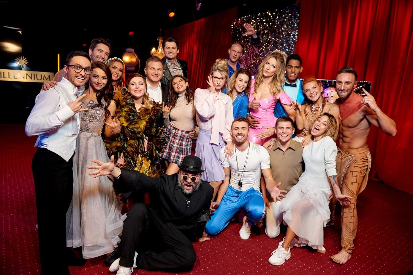 Восемь звездных пар презентовали новые танцевальные постановки
