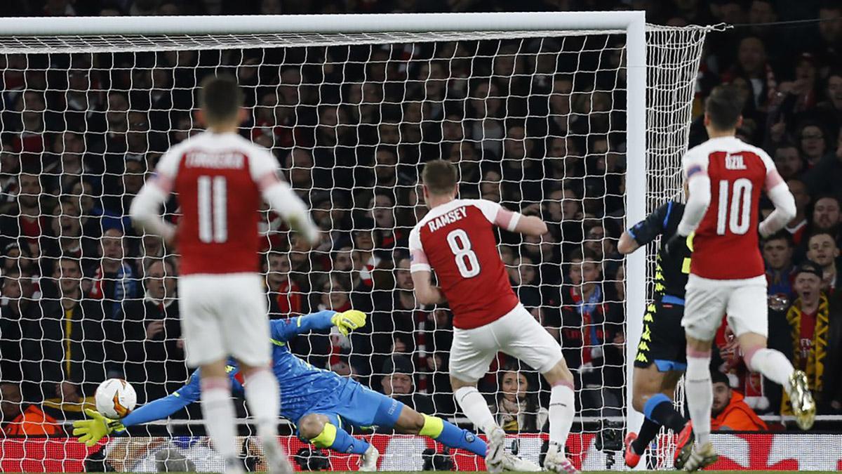 Арсенал обіграв Наполі і вийшов до півфіналу Ліги Європи