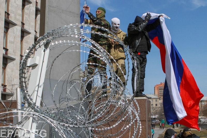 """В Донецке и Луганске позабыли отпраздновать вторую годовщину образования незаконных """"республик"""""""