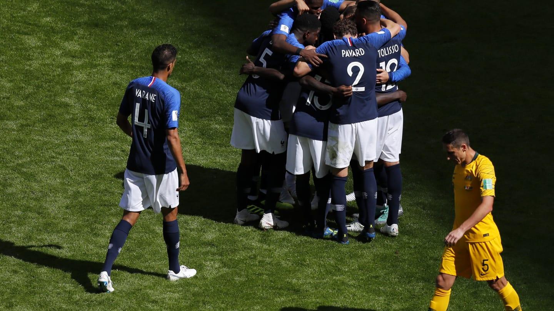 Франция победила Австралию в стартовом матче ЧМ-2018
