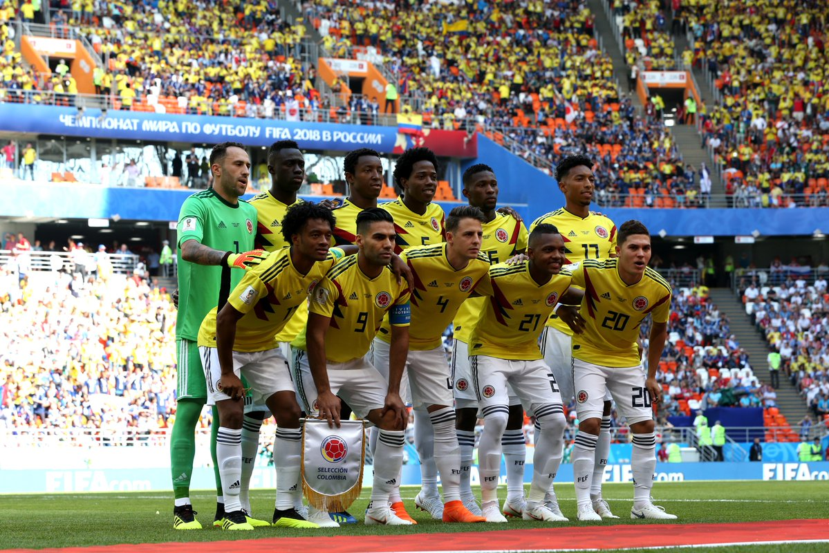 Колумбия одержала важнейшую победу над Сенегалом в матче ЧМ-2018