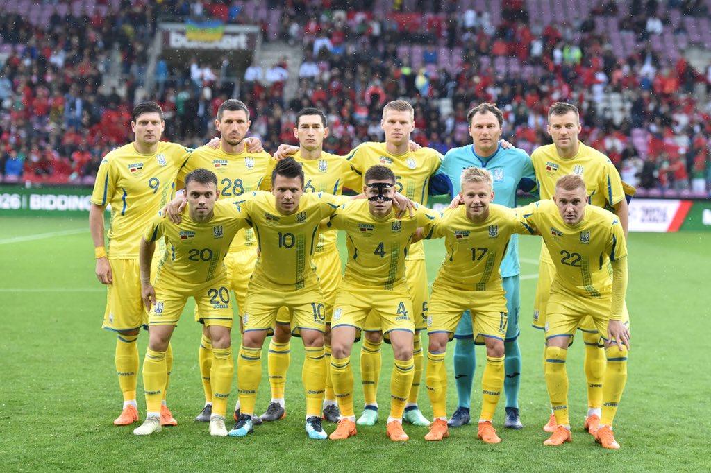 Сборная Украины в товарищеском матче разгромила Албанию
