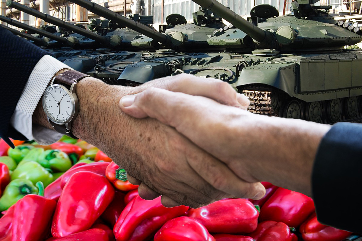 Україна продавала важке озброєння за кордон по бартеру, отримуючи в обмін перець та лавровий лист