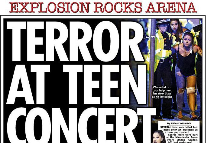 Теракт в Манчестере в публикациях мировых СМИ