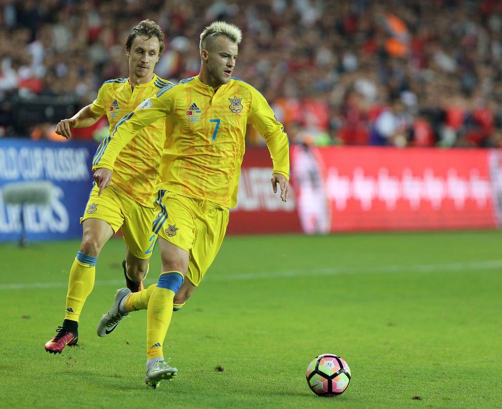 2 сентября сборная Украины сыграла в отборочном матче чемпионата мира-2018 против Турции