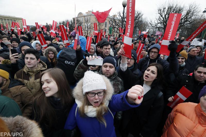 Слава Рабинович о протестах Навального и расколе российских элит