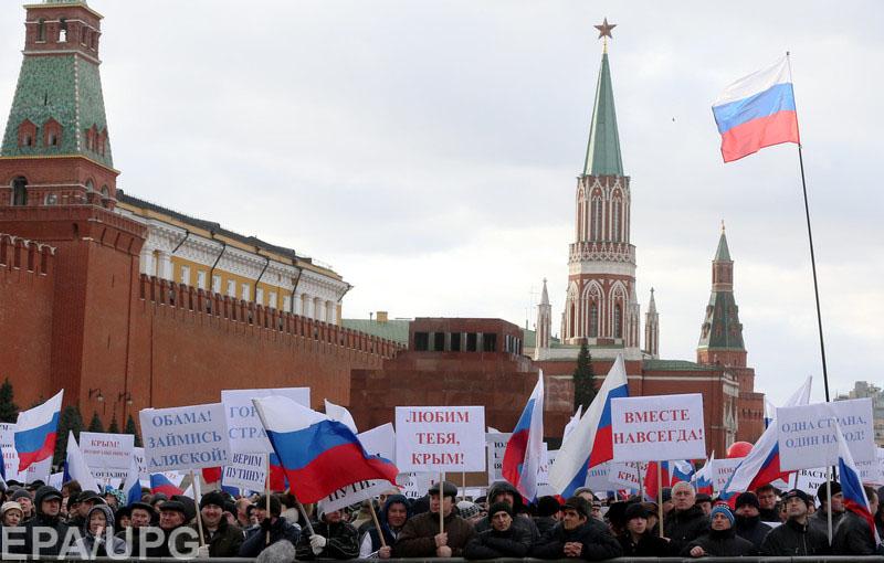 Российско-американский историк - об агрессивной политике Кремля