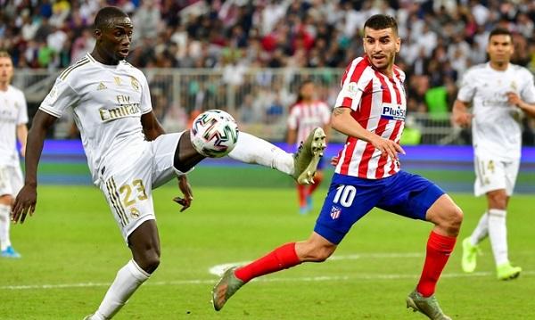 Мадридские клубы встречались в матче 22-го тура чемпионата Испании