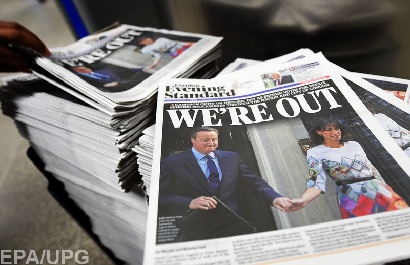 Главным виновником того, что Великобритания может выйти из ЕС, называют премьера этой страны Дэвида Кэмерона
