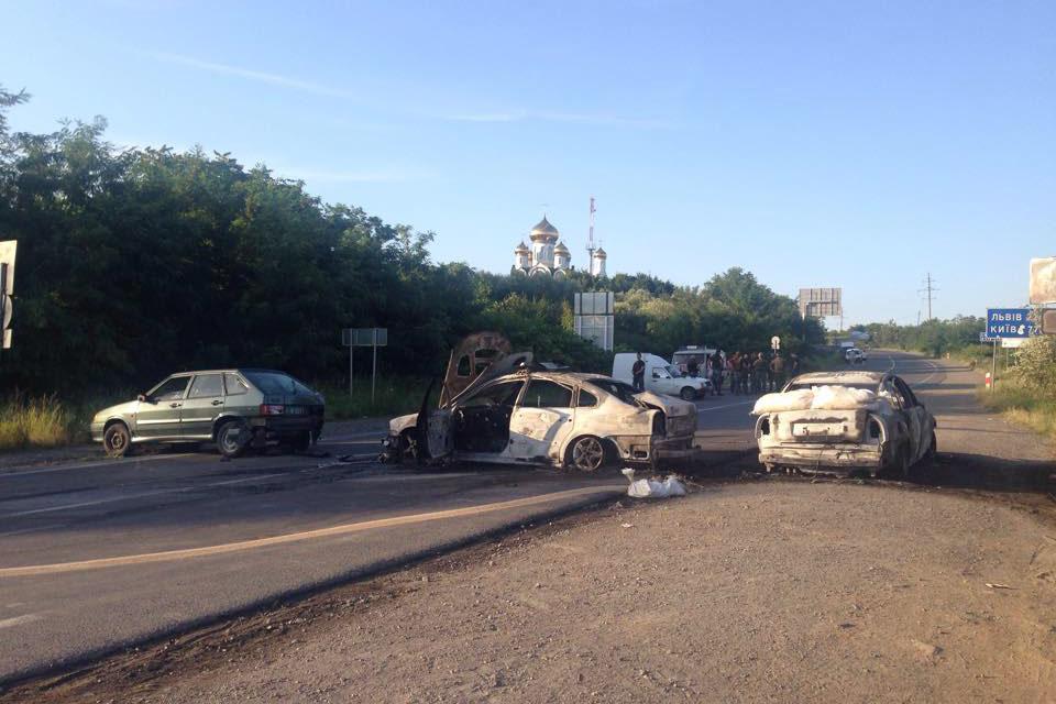 Хроника вооруженного столкновения в Мукачево