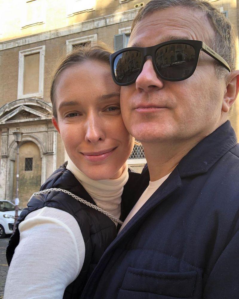 Осадча та Горбунов показали свої римські канікули: фото