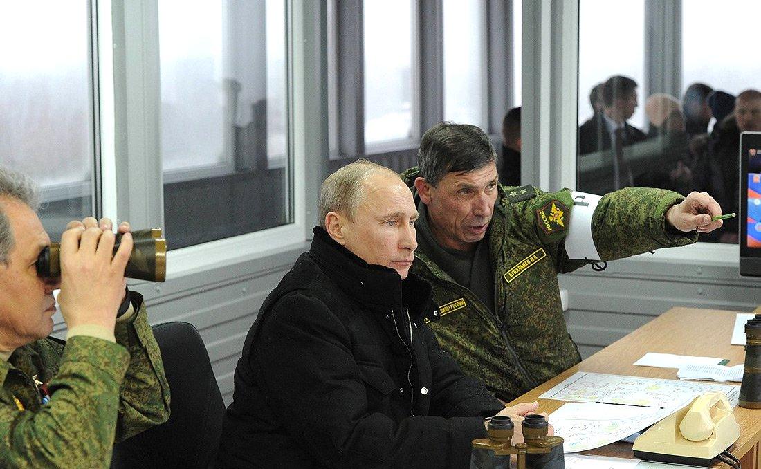 Лидер Кремля хочет доказать, что он может быть на одной ноге с США