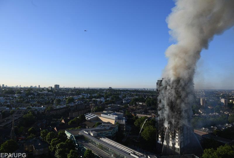 Пожежа влондонському багатоповерховому житловому будинку: поліція заявила про жертви