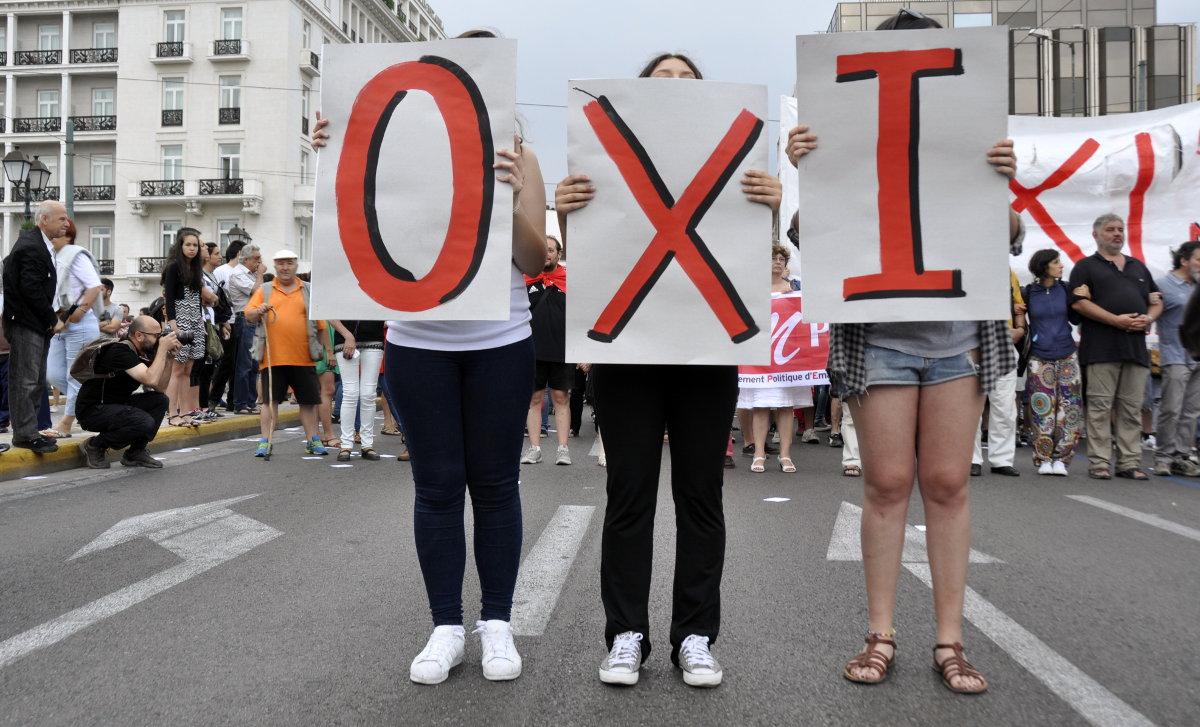 Как пользователи соцсетей отреагировали на результаты проведения референдума в Греции