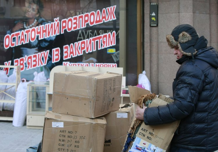 Количество пустующих мест в торговых центрах Киева побило все рекорды