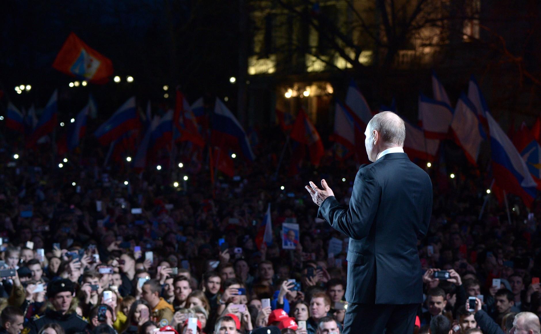 Рабинович о нелегитимности Путина и всей российской власти