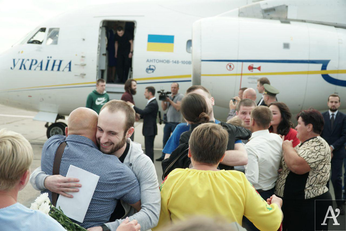 Украина и Россия проводят обмен пленными