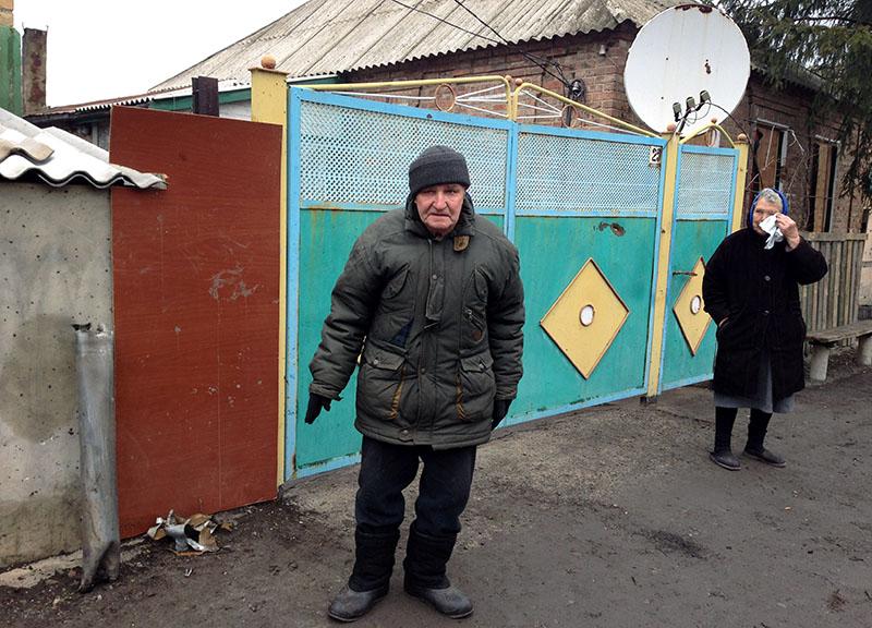 Многие жители Авдеевки обвиняют во всех бедах украинскую армию