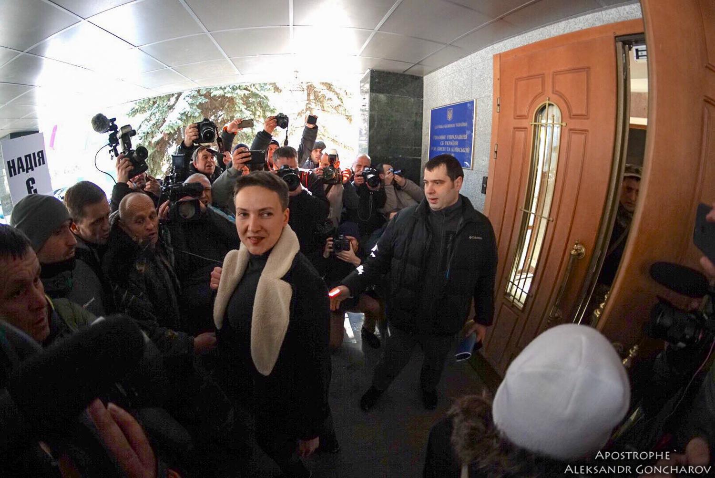 Надежду Савченко задержали вздании Верховной рады