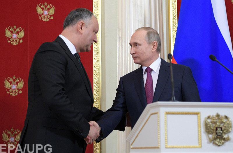 Молдова не сойдет с европейского пути, а Игорь Додон пытается просто усилить свои позиции за счет поддержки РФ.