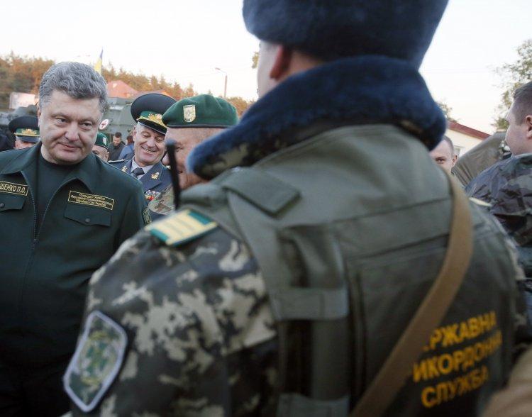 Петр Порошенко проинспектировал Госпогранслужбу на предмет готовности к зиме