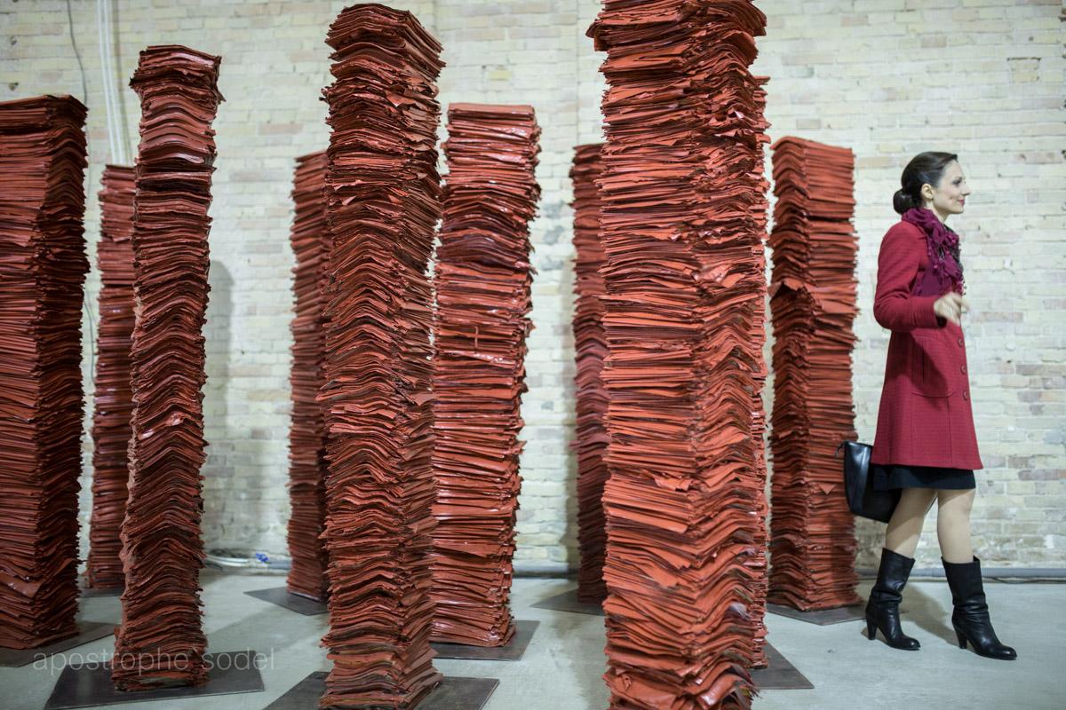 Международный фестиваль «Книжный Арсенал» представляет собой громадную зону досуга