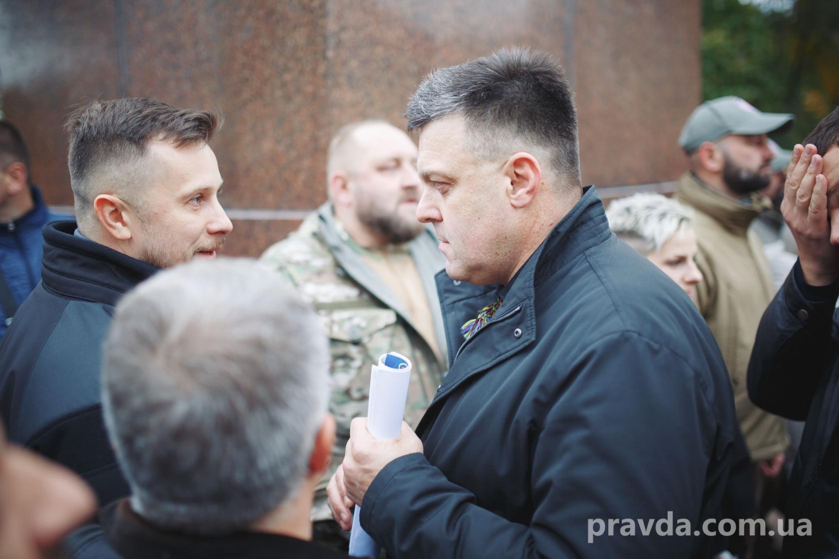 Националисты собирались озвучить фамилию единого кандидата в президенты на Покрову